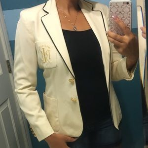 🛍Lauren Ralph Lauren Gorgeous Jacket Blazer Custo
